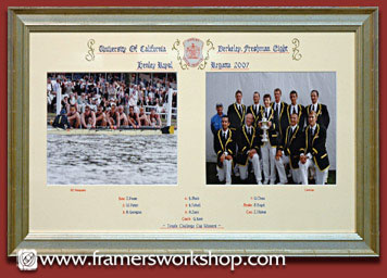 The framers workshop berkeley ca do it yourself custom framing henley regatta team crew frame solutioingenieria Choice Image