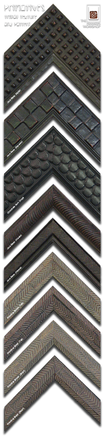 Tribal Texture and Pattern Specialty Frames