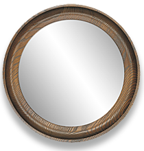 Round Mirror Visualization