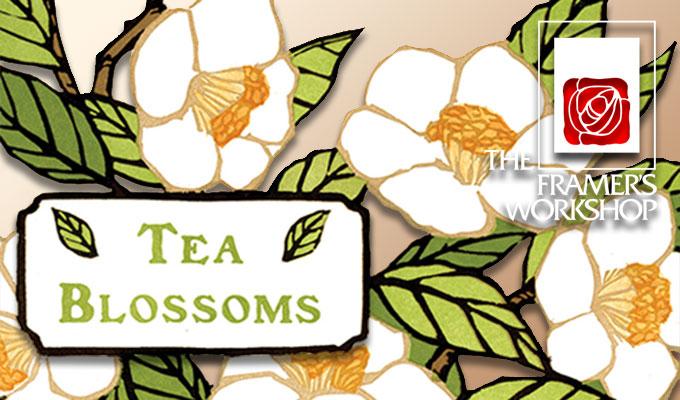 _Tea Blossoms_ a new print from Yoshiko Yamamoto