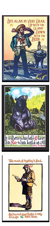Kenspeckle Letterpress Greeting Cards