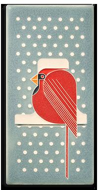 Charley Harper _Cool Cardinal_