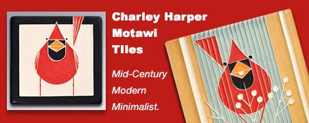 Charley Harper Motawi Tiles