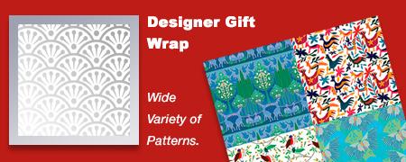 Designer Gift Wrap