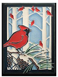 Yoshiko Yamamoto _Winter Cardinal_