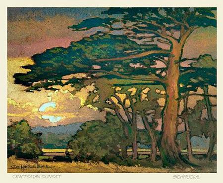 Craftsman Sunset by Jan Schmuckal