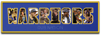 Warriors Name Mat