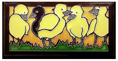 Coming Mid February_ New Motawi Tile by Yoshiko Yamamoto_ _Ugly Duckling_