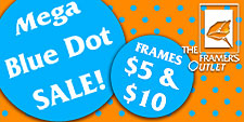 Blue Dot Special Frame Sale _5 _ _10