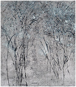 Sylvia Susman_ _Morning Forest__ Monotype_ 2015