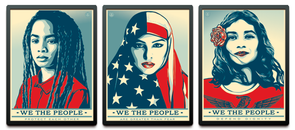 Framed We The People Prints