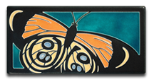 Callicore Turquoise Motawi Tile
