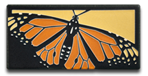 Monarch Golden Motawi Tile