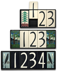 Motawi Tile Street Numbers are excelent gifts