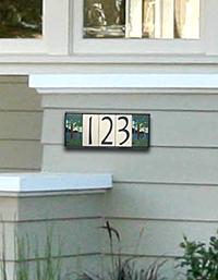Motawi Tile Street Numbers