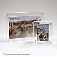 Transparent Crystal Priti Photo Desk Frames