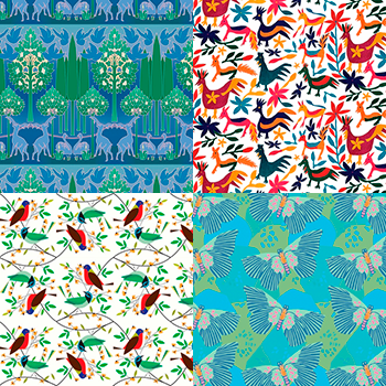 New Designer Giftwrap Patterns