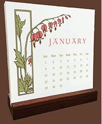 Yoshiko Yamamoto_s 2017 Letterpress Desk Calendar