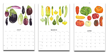 Farmer's Market Calendar