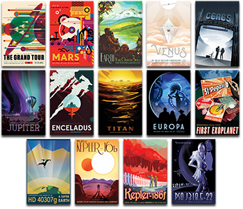 _Visions of the Future_ NASA_JPL Posters Printed-on-Demand
