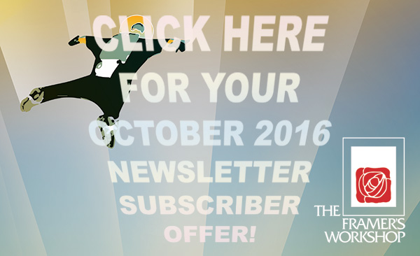 Click HERE For Your October 2016 Newsletter Subscriber Offer_