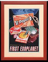 Framed _51 Pegasi b_ NASA_JPL Poster