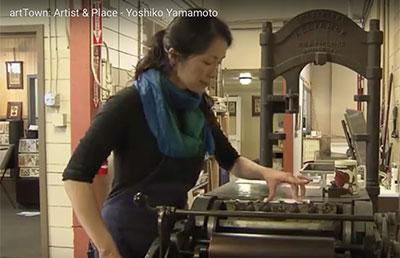Tour Yoshiko Yamamoto_s Studio in Tacoma Washington
