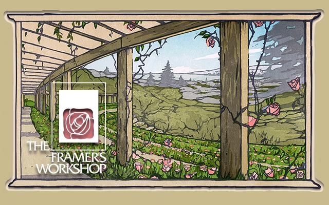 The Berkeley Rose Garden by Yoshiko Yamamoto