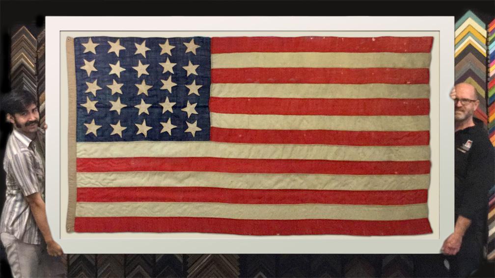 The Framer\'s Workshop, Berkeley Ca: Framed Oversized Civil War Era ...