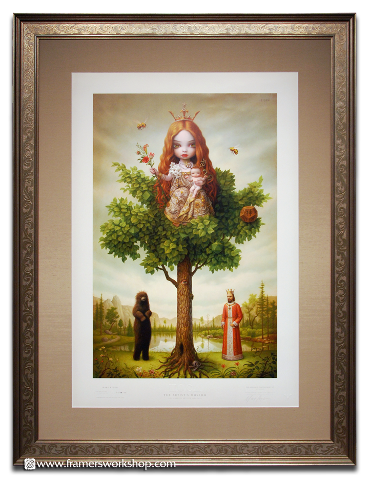 The Framer\'s Workshop, Berkeley Ca • Framed Mark Ryden Print
