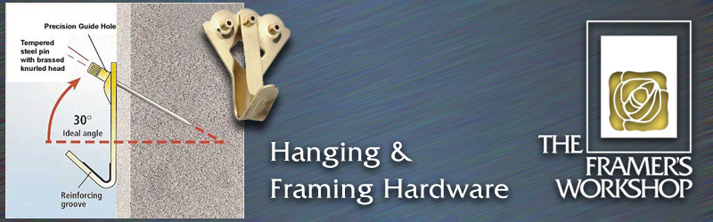 Picture Hanging And Earthquake Safty Hardware At The Framers