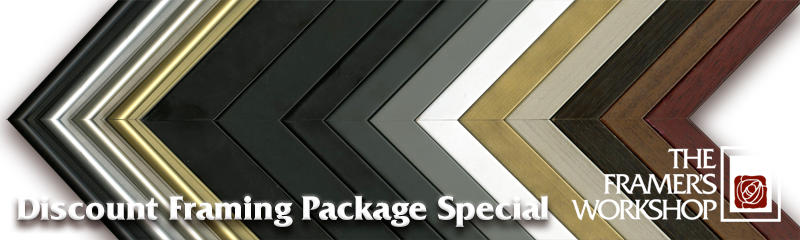 discount framing package special at the framers workshop berkeley - Discount Framing