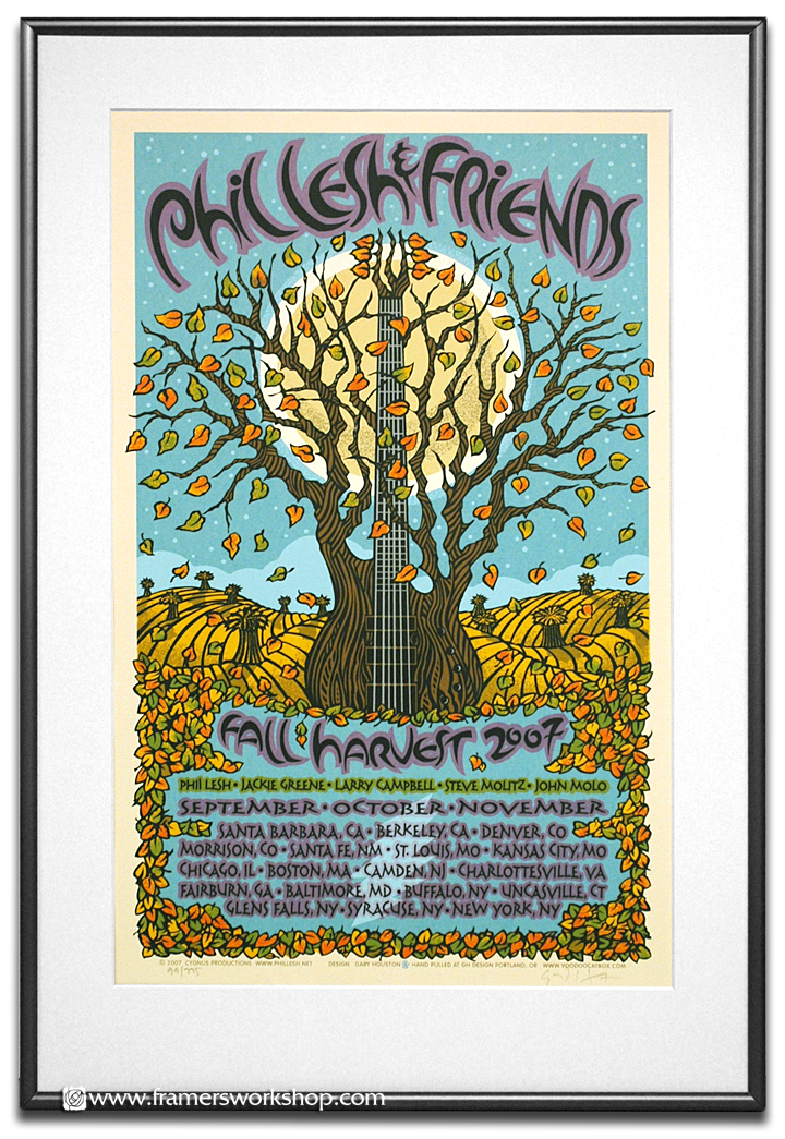 discount framing packinge special rock poster example - Discount Framing