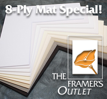 8-Ply Mat Special at The Framer's Outlet